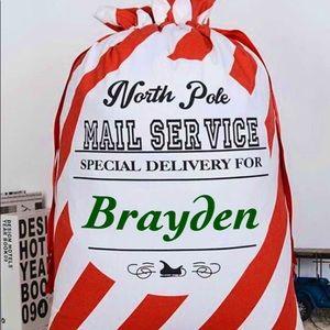 Other - Custom Christmas canvas bag